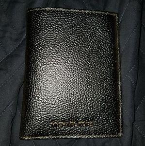 Nwt michael kors gold passport wallet